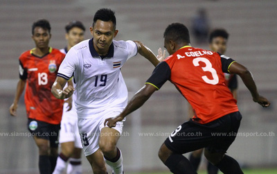 U22 Thái Lan xếp thứ 3 bảng đấu có Việt Nam ở SEA Games