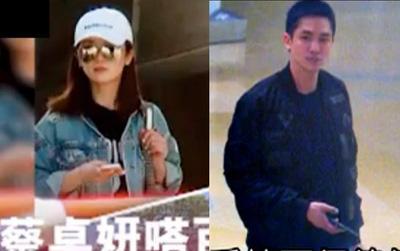Thái Trác Nghiên (TWINS) lộ ảnh hẹn hò, qua đêm với con trai tỷ phú mạt chược Hồng Kông