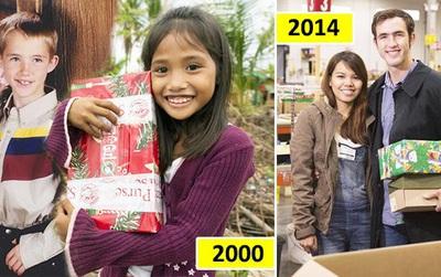 14 năm sau khi nhận quà Giáng sinh từ nơi cách xa 13.000 km, cô gái kết hôn với chính chàng trai xa lạ từng tặng quà mình