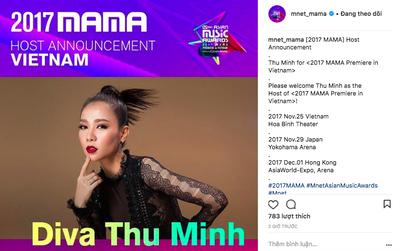 """Không phải Ái Phương, đây mới là nghệ sĩ được MAMA 2017 chính thức chọn làm """"chủ xị"""" tại Việt Nam"""