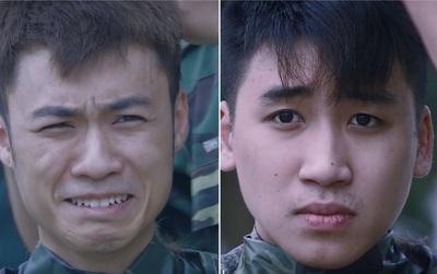 """Phản ứng khó đỡ của Huy Cung, Vương Anh Ole, Khắc Việt khi hi sinh mái tóc trong """"Sao nhập ngũ"""""""
