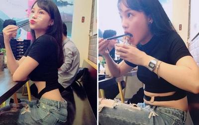 """Bức ảnh """"Con gái đẹp nhất khi chưa ăn"""" hot nhất Facebook: Nhật vật chính nói gì?"""