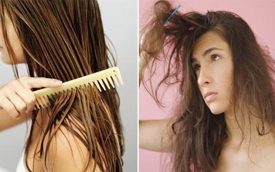 Những kiểu chải tóc ai cũng mắc phải khiến tóc càng ngày càng chẻ ngọn