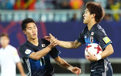 U20 Nhật Bản xuất sắc giành vé vào vòng knock-out