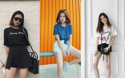 Quanh đi quẩn lại, đây vẫn là 3 kiểu áo phông được con gái Việt mê nhất