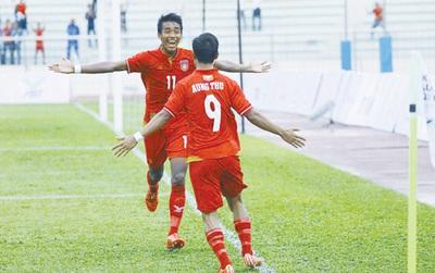 U22 Myanmar giành vé đầu tiên vào bán kết SEA Games 29