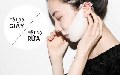 Đắp mặt nạ giấy hay rửa, loại nào mới thật sự tốt cho da?