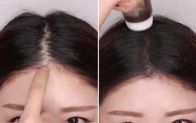 Các nàng tóc mỏng lộ nhiều da đầu chỉ cần tốn 300 ngàn cho thứ này là tóc trông sẽ dày hơn đáng kể