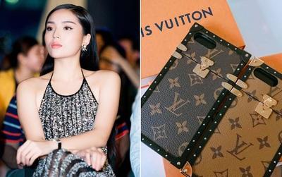 Hoa hậu Kỳ Duyên chi hơn 40 triệu đồng chỉ cho... ốp điện thoại Louis Vuitton