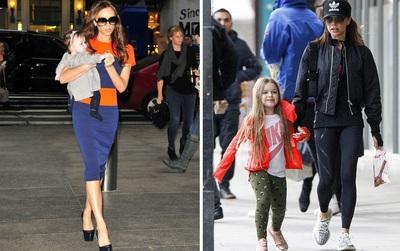 Không thể tin cũng có ngày bà Beck diện legging cùng sneaker giản dị thế này ra phố