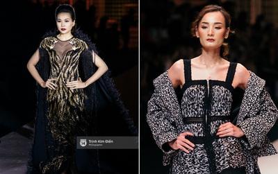 Thanh Hằng đặt cái kết hoàn hảo cho VIFW, Lê Thúy bất ngờ catwalk trong show Lê Thanh Hòa