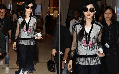 """Vẫn tại Cannes, nhưng Phạm Băng Băng lại """"biến hình"""" từ Nữ thần sang Thảm họa thời trang"""