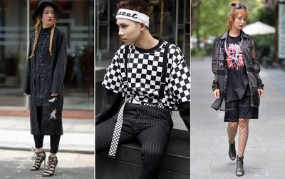 Street style giới trẻ 2 miền: 50 sắc thái đen và 50 sắc thái độc-dị