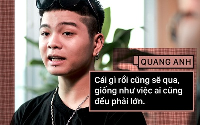 """Quang Anh thời không còn """"nhí"""": Dám làm, dám chịu và mặc kệ mọi lời chê bai ngoại hình!"""
