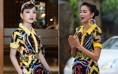 """Chi Pu & Mai Ngô cùng """"mặc lại"""" trang phục của Hà Hồ & Phạm Hương tại The Face năm ngoái"""
