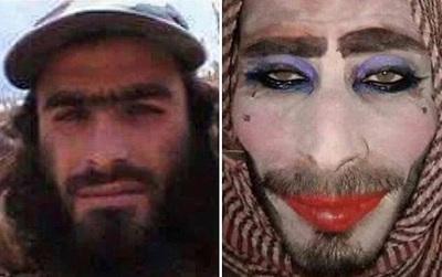 Chiến binh IS make up, độn ngực cải trang làm phụ nữ để tẩu thoát nhưng vì quên cạo râu nên bị lộ tẩy