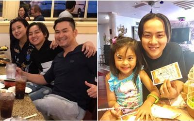 Hoài Lâm để tóc dài khác lạ, sang Mỹ gặp người nhà bạn gái