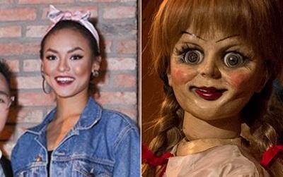 Không hiểu Mai Ngô trang điểm kiểu gì mà càng nhìn càng giống Annabelle