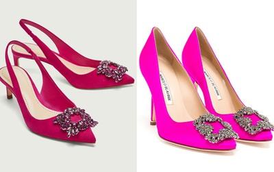 """Đang mơ đến một đôi Hangisi? Tuyệt vời chưa, Zara có đôi """"hao hao"""" rẻ gấp 14 lần"""