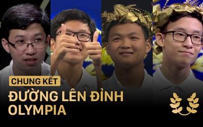 4 gương mặt sẽ tranh tài trong trận chung kết Đường lên đỉnh Olympia năm nay!