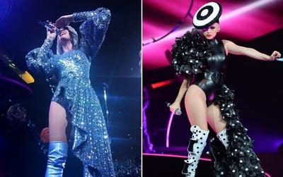 Sau Rihanna, đến lượt Katy Perry diện thiết kế của Công Trí và diện hẳn 3 bộ!
