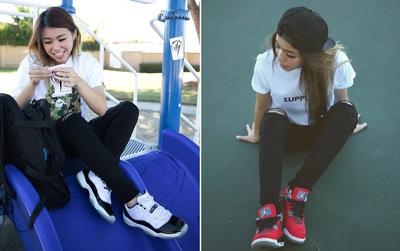 """Jillian Nguyễn: """"đầu giày"""" đã xinh đẹp, sở hữu gia tài sneakers đáng nể lại còn custom giày cực đỉnh"""