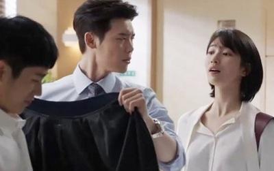 Ghen như Lee Jong Suk: Quyết không cho Suzy thấy body 6 múi của nam phụ