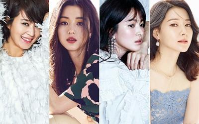 Không nghi ngờ gì nữa, đây là 10 chị đại quyền lực bậc nhất của màn ảnh Hàn!