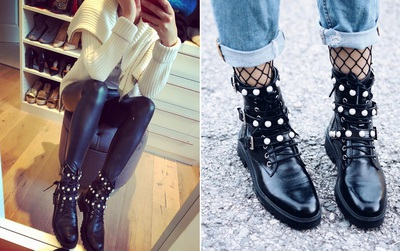 Đôi boots vừa bụi vừa sang chảnh này đang là món đồ hot nhất của Zara cả Instagram đều đang diện nó