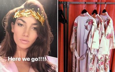 Victoria's Secret Fashion Show 2017: 55 người mẫu đã rục rịch make up, làm tóc chuẩn bị cho show diễn tối nay
