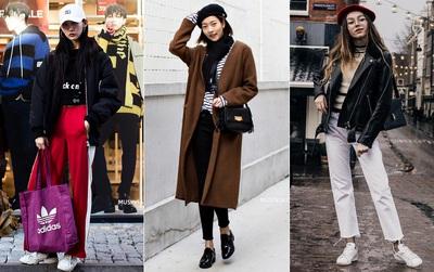 Mải mê ngắm street style ngày lạnh đẹp quên sầu của giới trẻ thế giới
