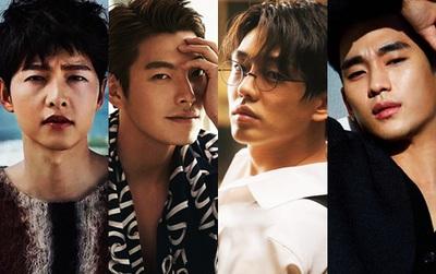 Điểm danh 12 chàng diễn viên xứ Hàn sở hữu đôi mắt một mí cực hút