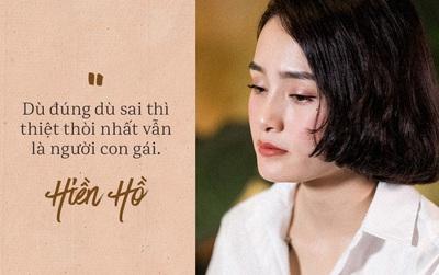 """Clip Hiền Hồ nói về chuyện tình cảm với Soobin Hoàng Sơn: """"Dù đúng dù sai thì thiệt thòi nhất vẫn là người con gái"""""""