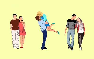 Bạn cảm nhận cặp đôi nào đang yêu, điều đó sẽ tiết lộ tính cách của bạn trong chuyện tình cảm