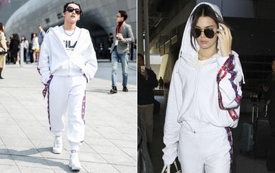 """Đụng hàng với Kendall Jenner, Sơn Tùng lại tiếp tục bị """"đè bẹp"""" bởi chiều cao"""