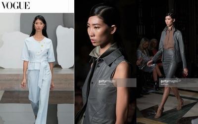 Trúng liên tiếp 6 show, Trang Phạm là mẫu Việt đắt show nhất tại London Fashion Week