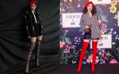 """Đăng ảnh Hà Hồ đội mũ nồi và bình luận về cách đội đúng, liệu stylist Lê Minh Ngọc có ngầm """"đá xéo"""" Chi Pu?"""
