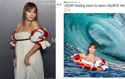 """Hình ảnh CL khoe vòng một trong bộ váy """"thảm họa"""" bỗng trở thành cảm hứng """"chế"""" ảnh bất tận"""
