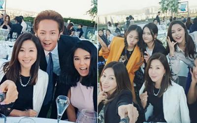 """Jang Geun Suk, Hoa hậu Park Si Yeon cùng loạt sao Hàn khoe ảnh trong đám cưới mỹ nhân phim """"Mười"""""""