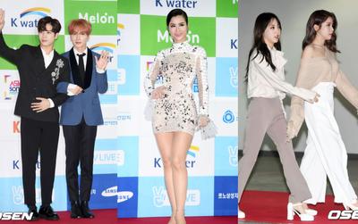 Thảm đỏ Asian Song Festival: Đông Nhi được báo Hàn khen ngợi hết lời, sánh bước bên loạt sao thế giới