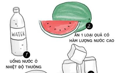 Mỗi khi lên cơn đau đầu, làm mấy việc đơn giản sau là thấy nhẹ ngay