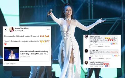 """Nghệ sĩ, khán giả Việt tự hào trước phần trình diễn đẳng cấp của Đông Nhi tại """"Asia Song Festival 2017"""""""