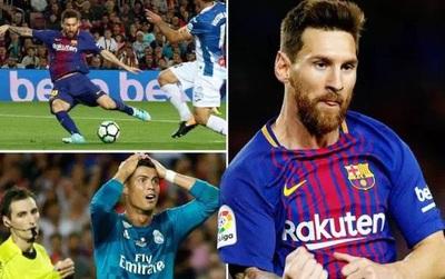 Khi Ronaldo đi bán đồ lót và nước hoa, Messi đã xé nát La Liga
