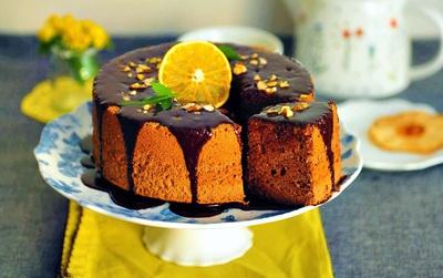 """Làm chiffon socola - người """"chị em"""" mềm nhẹ như bông không kém Angel food cake với cách làm đơn giản"""