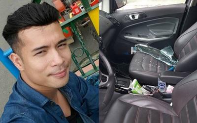 """Trương Thế Vinh bị trộm đập vỡ cửa kính xe """"cuỗm"""" tài sản"""