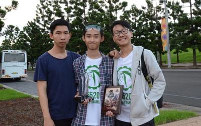 Trường Ams có nhóm học sinh đầu tiên của Việt Nam đi thi robot quốc tế