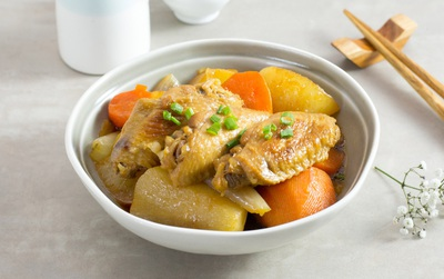 Một cách chế biến cánh gà thật ngọt thịt mà không cần hạt nêm