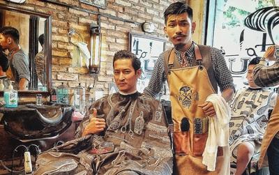 """""""4RAU Barber Shop"""" - Tiệm tóc đậm chất Hipster của diễn viên Hà Hiền """"Bụi đời Chợ Lớn"""""""