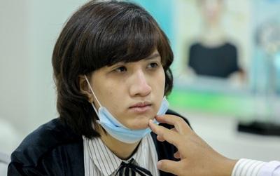 Hé lộ hình ảnh Hồng Xuân đi chỉnh sửa lại mũi do Nguyễn Hợp ném đồ vào gây thương tích