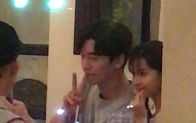 """Bắt gặp Midu đi ăn tối thân mật cùng Shin Sung Rok - """"Ác nhân"""" phim """"Vì sao đưa anh tới"""""""